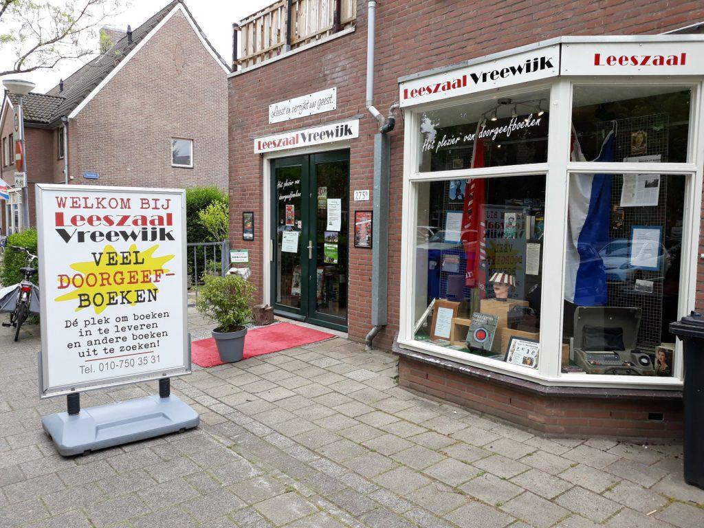 Leeszaal Vreewijk aan de Groenezoom 275B in Vreewijk