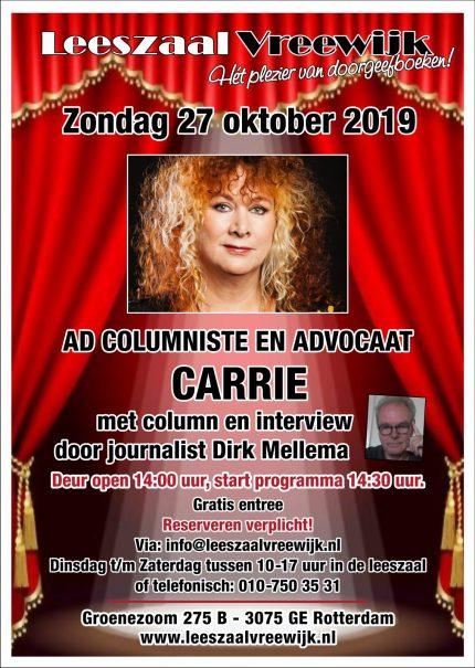 Carrie, AD Columniste en advocaat