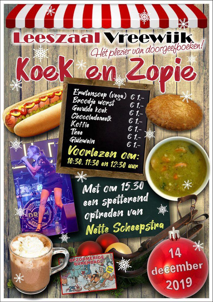 Leeszaal Vreewijk Koek en Zopie